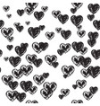 sensuality backdrop with hearts vector image