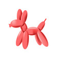 small balloon figurine vector image vector image