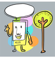 SmartPhoneArt vector image vector image