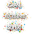 Super paper banners vector image vector image