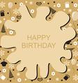 birthday blob vector image