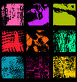 colored ink spots graffiti collection vector image