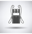 Fuel station icon vector image