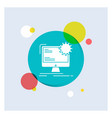 internet layout page site static white glyph icon vector image vector image