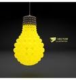 Lightbulb Idea concept 3d vector image vector image