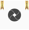Loop flat icon vector image vector image