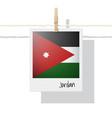 photo of jordan flag vector image