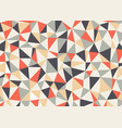 polygon triangles background abstract vector image vector image