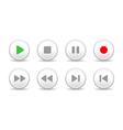 Sound controls vector image