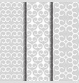 arabic style oriental patterns set white vector image vector image