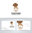 Chef Coaching vector image