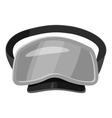 Dive mask icon gray monochrome style vector image vector image