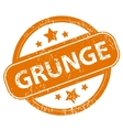 Grunge grunge icon vector image vector image