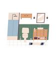 home wc or bathroom interior clean restroom vector image