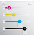 Infographics Design Template Banner and Background vector image vector image
