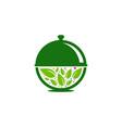 nature food logo icon design vector image