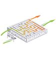 Paperwork and bureaucracy vector image vector image