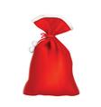 Santa red sack vector image vector image