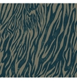 Seamless vintage style pattern with zebra or tiger vector image vector image