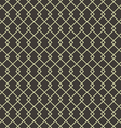 Abstract geometric square seamless pattern vintage vector image vector image