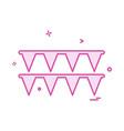 bounty icon design vector image