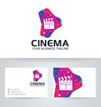 Cinema Media vector image vector image