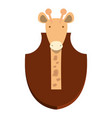 hunting trophies design vector image