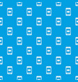 smartphone with email symbol on the screen pattern vector image