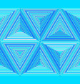 triangular dimensions abstract geometric vector image