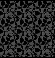 black and white abstract background seamless vector image vector image