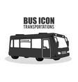 bus transportation design vector image vector image