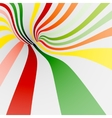 Colorful twisted shape for background of sweets vector image vector image