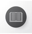 literature icon symbol premium quality isolated vector image