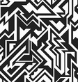 monochrome technology seamless pattern vector image