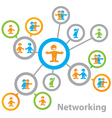 Networking vector | Price: 1 Credit (USD $1)