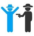 Person Crime Icon vector image
