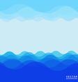 Sea wave 005 vector image vector image