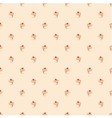 Seamless pattern or texture with little cupcakes vector image vector image