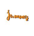 summer hand drawn vector image