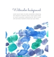 Watercolor spot background vector image vector image