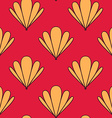Abstract Shell Seamless Pattern vector image vector image
