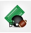 american football helmet ball
