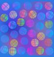 bright circle pattern vector image