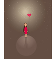 Cute valentines background vector | Price: 1 Credit (USD $1)
