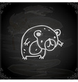 Hand Drawn Bear vector image vector image