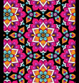 marrakesh rosettes pattern vector image vector image