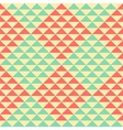 Retro rhombus pattern vector image vector image