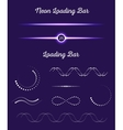 Set Loading Bars vector image