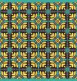 vintage seamless flower pattern vector image