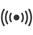 wi-fi point flat icon vector image